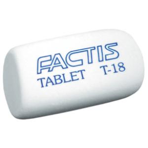 Ластик для карандашей FACTIS Tablet T-18 (fc.T-18)