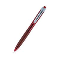 Ручка шариковая автомат с грипом 0,7 мм Axent красная (DB2035-06)
