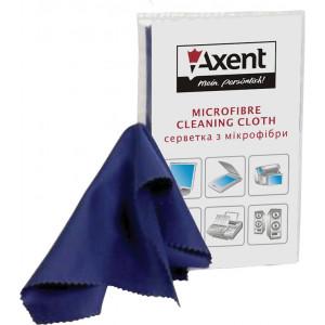 Тряпка микрофибра (оптика/пластик) 15 х 18 см (1 шт) Axent (5307-A)