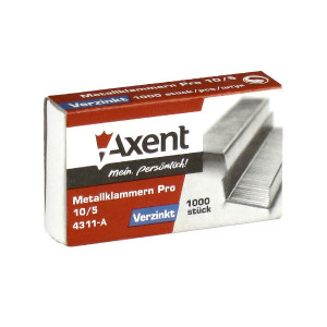 Скобы 10/5 1000 шт Axent Pro (4311-A)