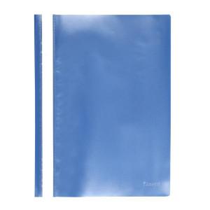 Скоросшиватель пластик. с прозр. верхом А4 (глянец) голубой AXENT (1317-22-A)