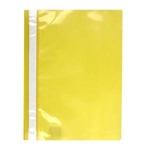 Скоросшиватель пластик. с прозр. верхом А4 (глянец) желтый AXENT (1317-26-A)