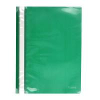 Скоросшиватель пластик. с прозр. верхом А4 (глянец) зеленый AXENT (1317-25-A)