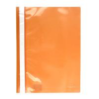 Скоросшиватель пластик. с прозр. верхом А4 (глянец) оранж AXENT (1317-28-A)