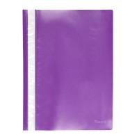 Скоросшиватель пластик. с прозр. верхом А4 (глянец) фиолет AXENT (1317-29-A)
