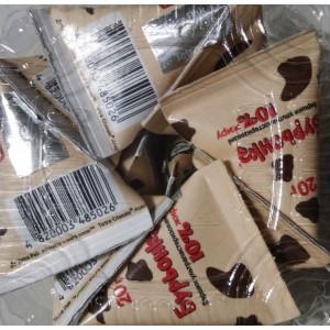 Сливки жидкие порционные Буренка, 10% (10 шт х 20 гр), (пирамидки)