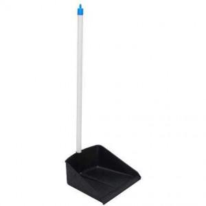 Совок для мусора пластиковый ЛЕНЮХ PL (длинная ручка)