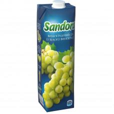Сок Sandora, 950 мл, (виноград белий)