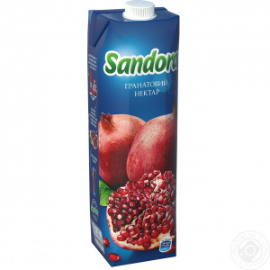 Сок Sandora, 950 мл, (гранат)