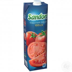 Сок Sandora, 950 мл, (томат)