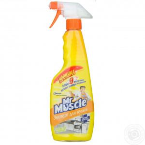 Моющее средство для кухни 450 мл Мистер Мускул Эксперт курок (4823002002690)