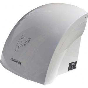 Сушилка для рук автоматическая ZG, мощность 1800 Вт., корпус: пластик, цвет: белый, 230 х 220 х 250 мм (100-208)