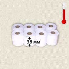 Кассовая лента 1слойн 38 мм х 19 м ТЕРМО (10 рулонов)
