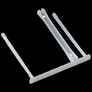 Усы для архивирования пластиковые Fellowes, белые (f.89500)