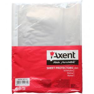 Файл глянцевый A4+ 30 мкм Axent вертик европерф (100 шт) (2007-00-A)