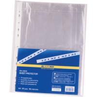 Файл глянцевый A4+ 40 мкм Buromax вертик европерф (100 шт) (BM.3805)
