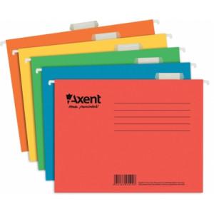 Файл подвесной картонный 315 х 240 мм Axent красный (6 шт) (1310-24)