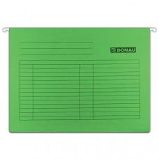 Файл подвесной картонный 318 х 240 мм Donau зеленый (25 шт)
