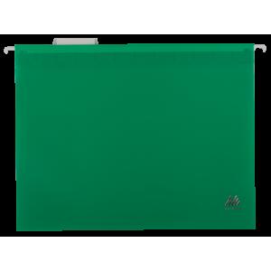 Файл подвесной пластик A4 BuroMax зеленый (12 шт) (BM.3360-04)