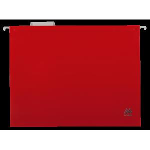 Файл подвесной пластик A4 BuroMax красный (12 шт) (BM.3360-05)