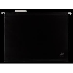 Файл подвесной пластик A4 BuroMax черный (12 шт) (ВМ.3360-01)