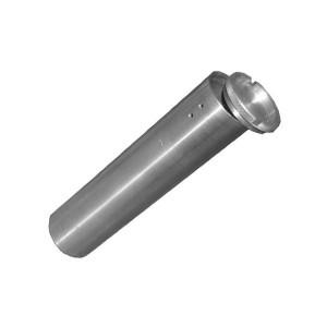 Футляр для хранения ключей, металлический (d- 45 мм, длина 120 мм)