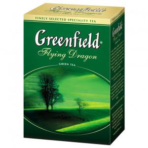 Чай зеленый среднелистовой Greenfield Flying Dragon, 100 гр
