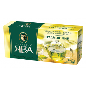 Чай зеленый в ф/п Принцесса Ява, 25 пак