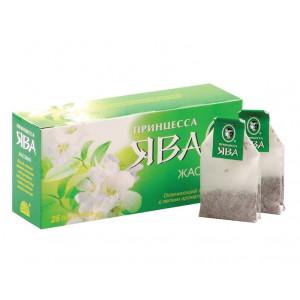 Чай зеленый в ф/п Принцесса Ява, с жасмином, 25 пак