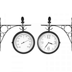 Часы Adam Garden, d-20 см, черные 1058-20
