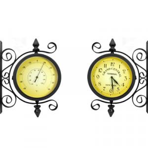 Часы Adam Garden, d-20 см, черные 1061-20F