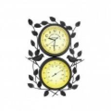 Часы Adam Garden, d-20 см, черные 308-20F