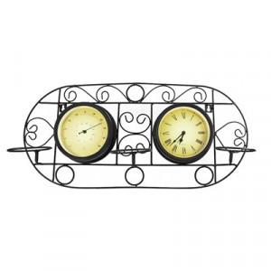 Часы Adam Garden, термометр, черные 052-15F