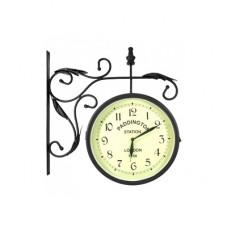 Часы двусторонние Adam Garden, d-25 см, черные 0142-25
