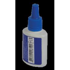 Штемпельная краска BuroMax, 30 мл, на водной основе, синяя (BM.1901-01)
