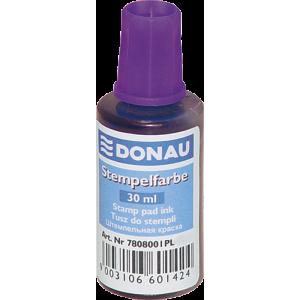 Штемпельная краска Donau, 30 мл, на водной основе, фиолетовая (7808001-23)