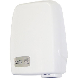 Сушилка для рук ZG (электрическая), пластиковая, 180 х 110 х 255 мм, белая (081-120)