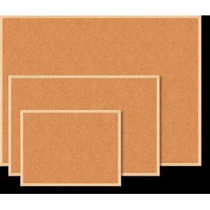 Доска пробковая 45 х 60 см BuroMax в деревянной рамке (ВМ.0013)