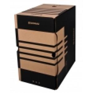 Бокс архивный картон 200 мм 297 х 340 мм Donau коричневый (7663401PL-02)