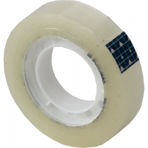 Скотч канцелярский 12 мм х 30 м BuroMax (прозр) (BM.7116-01)