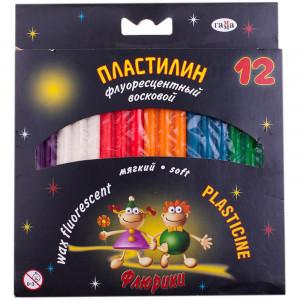 Пластилин 12 цв Гамма Флюрики 153 гр (280037Н)