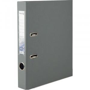 Регистратор 5 см А4 Axent 1стор покрыт, метал окант, серая (D1713-03C)