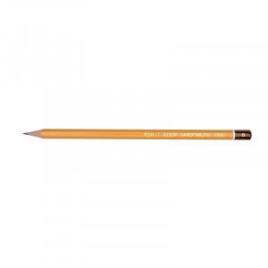 Карандаш чернографитный без ластика B KOH-I-NOOR чертежный (1500)