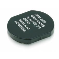 Сменная подушка для круглой оснастки COLOP E/R40 для оснастки R40 d-40 мм красная