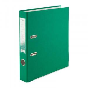 Регистратор 5 см А4 Axent 1стор покрыт, метал окант, зеленый (D1713-04)