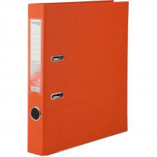 Регистратор 5 см А4 Axent 1стор покрыт, метал окант, оранжевый (D1713-09C)