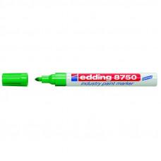 Маркер лакирующий (универс) зеленый 2-4 мм Edding 8750