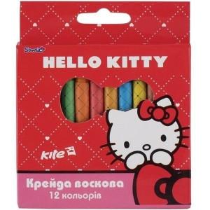 Мел восковый Hello Kitty 12 цветов (HK13-070K)