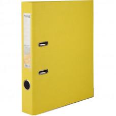 Регистратор 5 см А4 Axent 1стор покрыт, метал окант, желтый (D1713-08C)