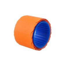 Ценники овальные, 26 х 12 мм, 160 шт/рулоне (оранжевые) Datum (660116)